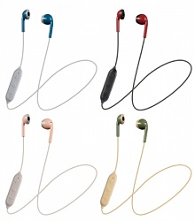 JVC Retro Wireless Bluetooth Earbuds (3 Colors) LARGE