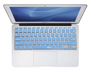 KB Covers Keyboard Cover for MacBook, MacBook Air & MacBook Pro (Blue) LARGE