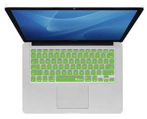 KB Covers Keyboard Cover for MacBook, MacBook Air & MacBook Pro (Green)_LARGE
