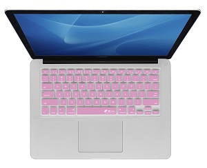KB Covers Keyboard Cover for MacBook, MacBook Air & MacBook Pro (Pink)_LARGE