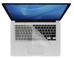 KB Covers Transparent Keyboard Cover for MacBook, MacBook Air & MacBook Pro (Clear)