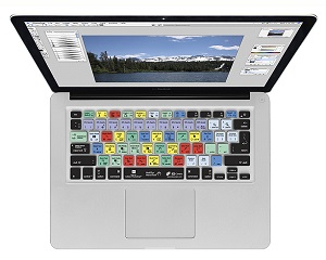 KB Covers Adobe Photoshop Keyboard Cover for MacBook, MacBook Air & MacBook Pro