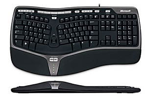 Microsoft Natural Ergonomic Wired Keyboard 4000