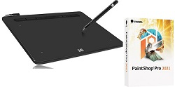 Kodak CyberTablet F8 8″ x 5″ Graphic Tablet Digital Tools Bundle for Windows (On Sale!) LARGE
