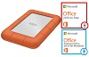 LaCie Rugged Mini 2TB Portable Hard Drive w/FREE MS Office Pro 2016 for Mac or Win (On Sale!) THUMBNAIL