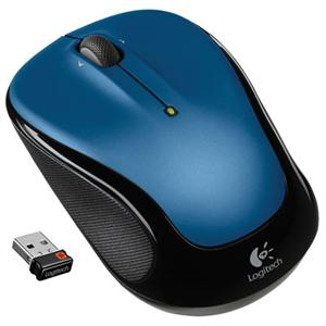 Logitech M325 Wireless Mouse (Blue)