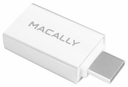 MacAlly USB-C to USB-A Adapter (2-Pack) LARGE