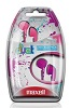 Maxell Duet 2-Pack Stereo Earbuds (Pink/Purple)