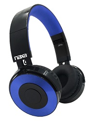 NAXA Metro Foldable Bluetooth Wireless Headphones (3 Colors) LARGE