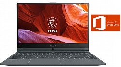"MSI Modern 14 14"" FHD Intel Core i5 8GB RAM 512GB SSD Laptop with MS Office Pro 2019 LARGE"