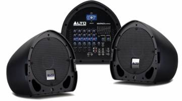 Alto Professional MixPack Express Ultra-Portable Powered PA System