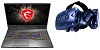 "MSI GP65 Leopard 15.6"" Intel Core i7 16GB RAM GTX 1660 Ti Gaming Laptop PC VR Bundle THUMBNAIL"