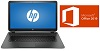 "HP 15-DB 15.6"" Touchscreen AMD RYZEN 3 8GB Laptop PC w/MS Office Pro 2019 (Ash Silver) (Refurbished)"