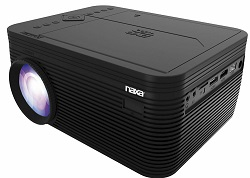 NAXA 150″ Home Theater 720P LCD Projector with Built-in DVD Player (On Sale!) LARGE