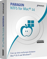 Paragon Software NTFS for Mac 3-User License (Latest Version Download)