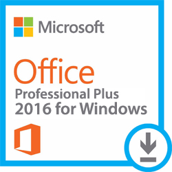 Microsoft Office 2016 Pro Plus for Windows (WAH Download)