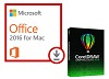 Microsoft Office 2016 with CorelDRAW Graphics Suite 2020 (Mac) THUMBNAIL