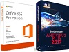 AntiVirus 2017 with FREE Microsoft Office 365 Education (Windows) THUMBNAIL