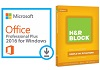 Microsoft Office 2016 Pro Plus for Windows with H&R Block 17 Basic (Download)