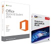 Microsoft Office Home & Student 2016 with AntiVirus Plus 2019 (Windows Download)