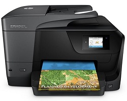 HP OfficeJet Pro 8710 All-in-One Color Printer (Refurbished)
