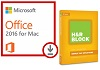 Microsoft Office 2016 for Mac with H&R Block Basic 2016 (WAH Download)