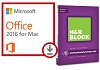 Microsoft Office 2016 for Mac with with H&R Block Deluxe + State 2016 (WAH Download)