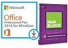 Microsoft Office 2016 Pro Plus for Windows with H&R Block Deluxe + State 2016 (WAH Download)