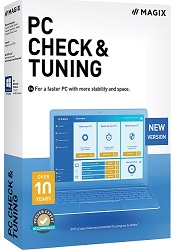 MAGIX PC Check & Tuning 2021 1-Year License (Download) LARGE