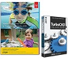 Adobe Photoshop Elements 2019 & Premiere Elements 2019 Student & Teacher w/TurboCAD Dlx (Download)