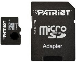 Patriot Memory Instamobile Class 10 microSDHC Card with Adapter 32GB