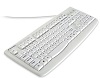 Kensington Pro Fit USB Washable Keyboard (White) THUMBNAIL