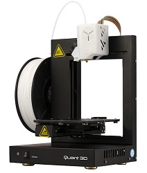 OK International Q200 Compact Desktop 3D Printer