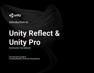 Unity Reflect & Unity Pro: Create Realistic, Real-time Visualizations - Student LARGE