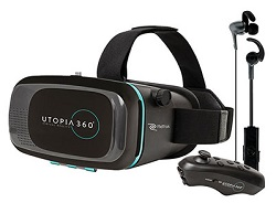 Emerge ReTrak Utopia 360 Virtual Reality Headset Immersive Bundle (On Sale!)