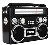 Supersonic Retro 3-Band Bluetooth Speaker/Radio with Flashlight THUMBNAIL