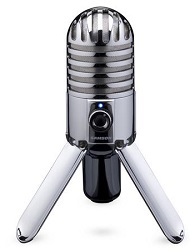 Samson Meteor Mic USB Studio Condenser Microphone w/ FREE 15Ft Cable