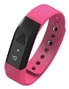 Supersonic SC-60FB PowerX-fit Fitness Wristband with Bluetooth 4.0 (Pink)