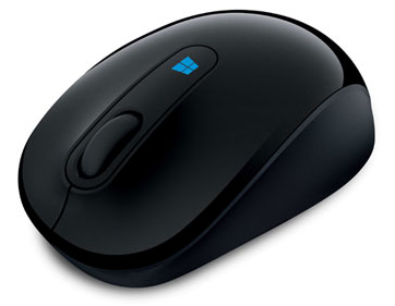 Microsoft Sculpt Mobile Wireless Mouse (Black)