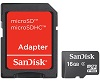 SanDisk Class 4 microSD Card 16GB with Adapter THUMBNAIL