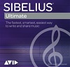 Avid Sibelius | Ultimate 2018 Academic Edition 1-Year Annual Subscription License (Activation Card)