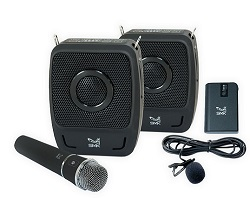 SMK-Link GoSpeak! VP3450 Duet Ultra-Portable Wireless PA System LARGE
