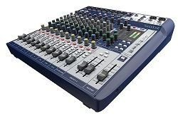 Soundcraft Signature 12 Audio Mixer with FREE! ACID Pro 10 Software LARGE