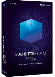 MAGIX Creative Software Sound Forge Pro Suite 14 (Download) LARGE
