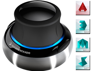 3Dconnexion SpaceNavigator 3D Mouse with FREE AutoCAD, 3ds Max, Maya & more!
