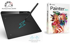 "XP-Pen StarG640 6x4"" OSU! Ultrathin Graphics Tablet with Corel Painter 2021 (ON SALE!) THUMBNAIL"