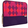 "STM Grace Laptop Sleeve for 15"" Notebooks with FREE Portable Charger (Purple Diamonds)"