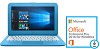 "HP Stream 14"" Intel Celeron 4GB RAM 32GB Storage Laptop PC w/MS Office Pro Plus 2016 (Blue)"