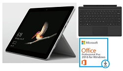 "Microsoft Surface Go Deluxe 10"" Touchscreen Intel 4415Y 8GB RAM 128GB SSD with MS Office Pro 2016"