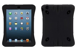 Griffin Handstrap Survivor Crossgrip for iPad mini 4 (Black/Black)